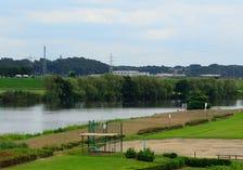 Shibamata baseball ground of Katsushika district