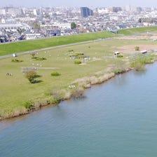 江戸川河川敷(旧篠崎サッカー場)