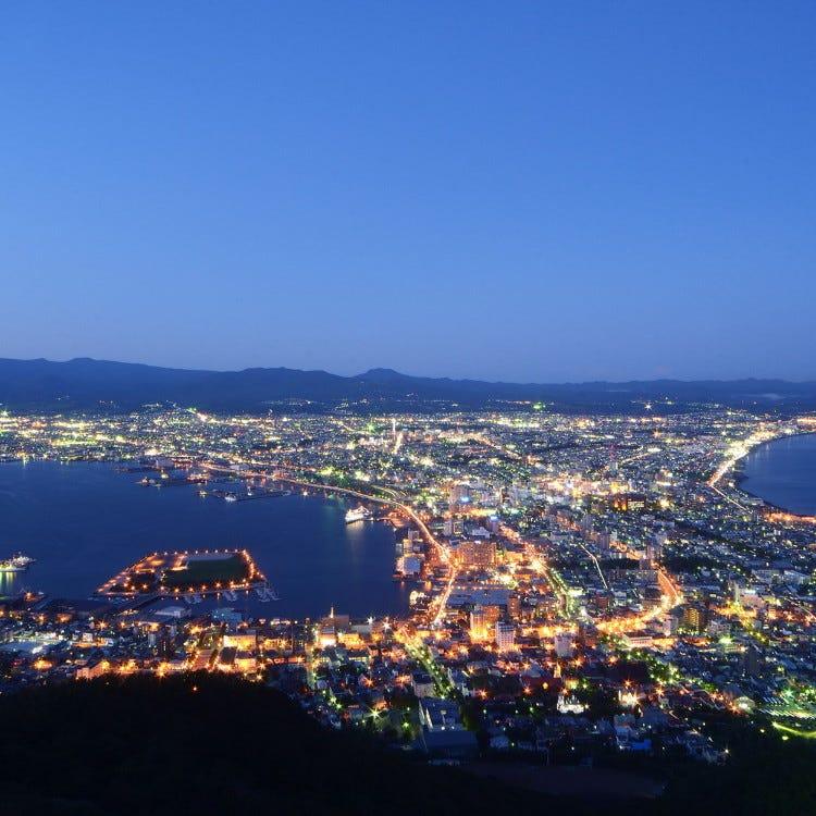 函馆山顶观景台
