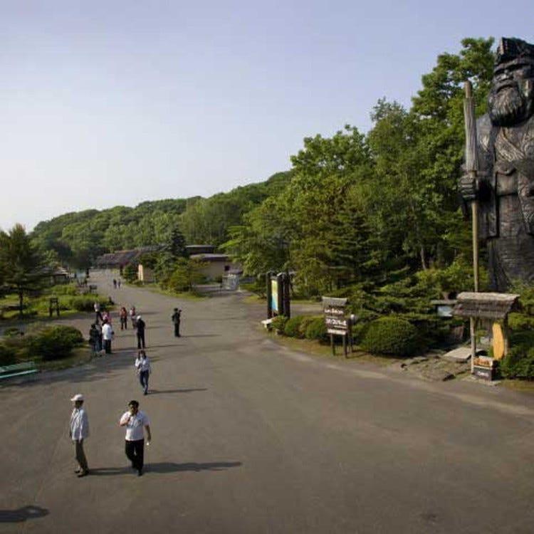 아이누 민족 박물관(시라오이포로토코탄)