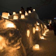 小樽雪燈之路