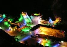 層雲峽溫泉 冰瀑季