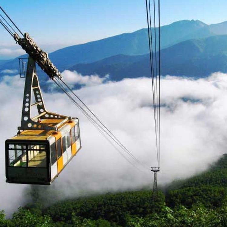 大雪山層雲峽‧黑岳纜車