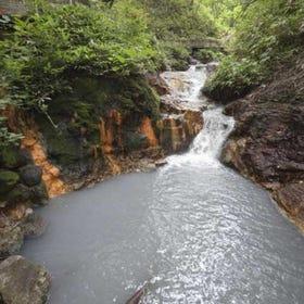 大湯沼川天然沐足溫泉
