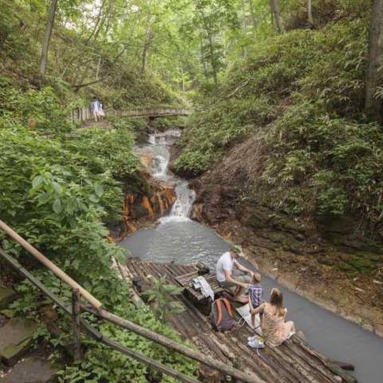 Oyunuma River Natural Footbath