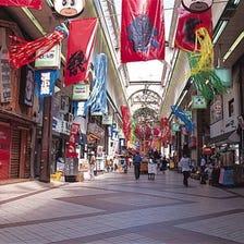 SAPPORO TANUKIKOJI SHOPPING STREET