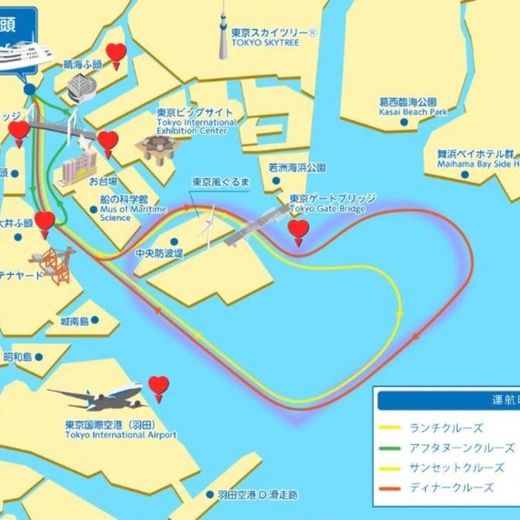 東京灣・交響樂號巡遊餐廳