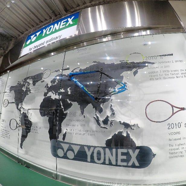 YONEX TOKYO SHOWROOM