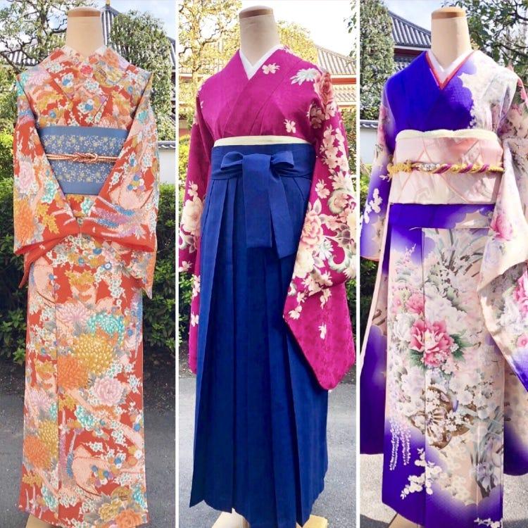 Asakusa Shichihenge - Used kimonos for sale and kimono rentals