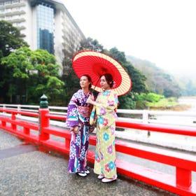 Kimono Dressing and Rental  Hakone Sakura Hime