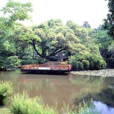春日大社神苑 万叶植物园