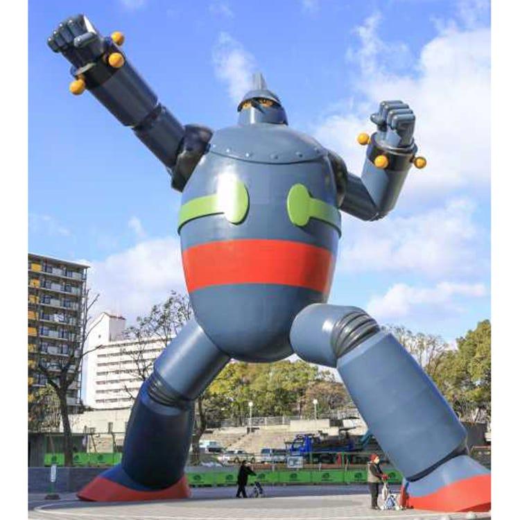 Tetsujin 28 Statue