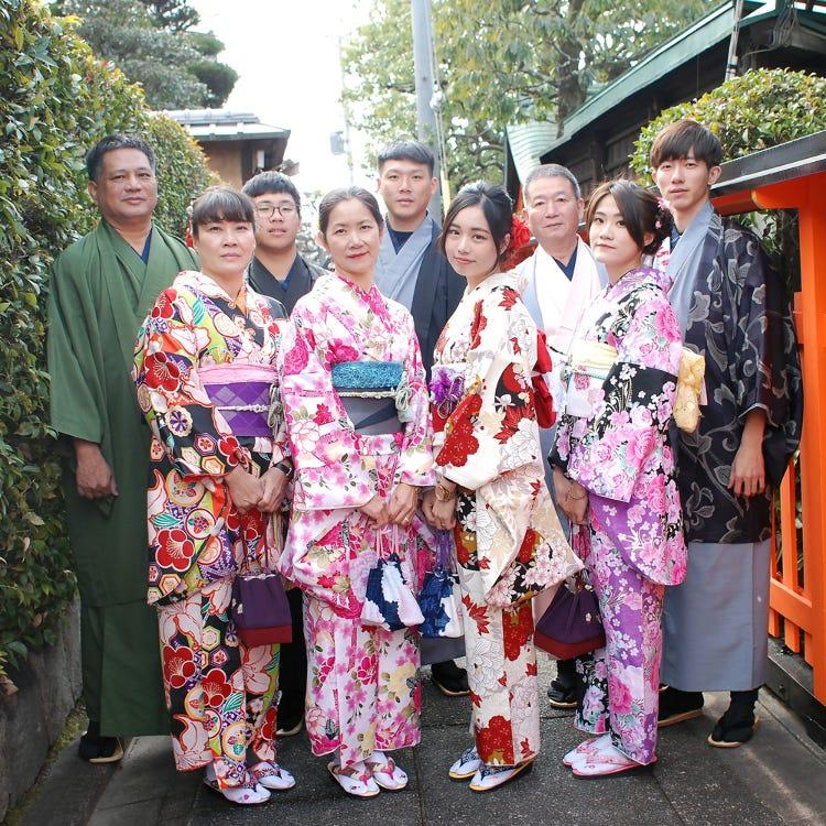 Kimono Rental Kyoto Aiwafuku Fushimi Inari Shop Fushimi Uji Culture Experience Live Japan Japanese Travel Sightseeing And Experience Guide