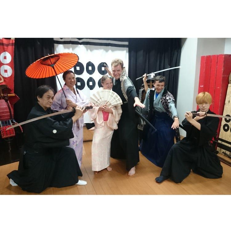 Samurai/Ninja Experience (Japanese Tatedo Association, Osakajo Dojo)