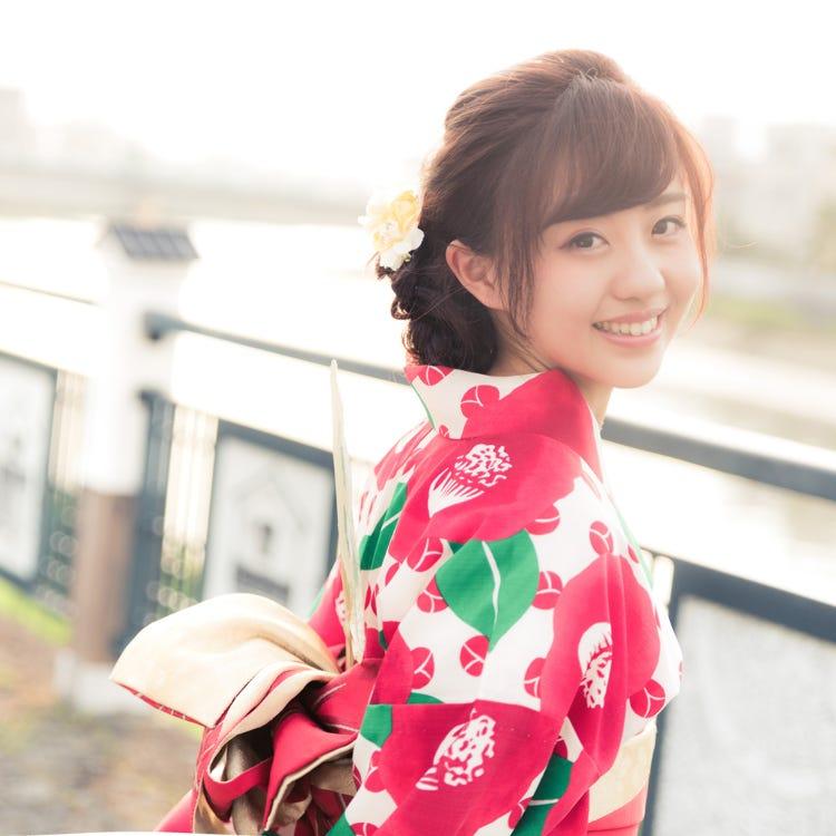 Asakusa Kimono Rental Once-in-a-lifetime Chance