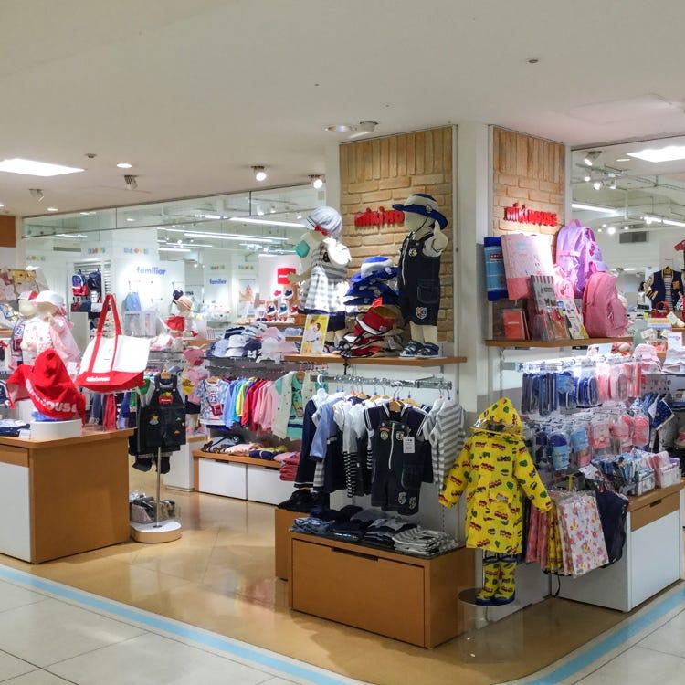 MIKI HOUSE Kyoto Daimaru store