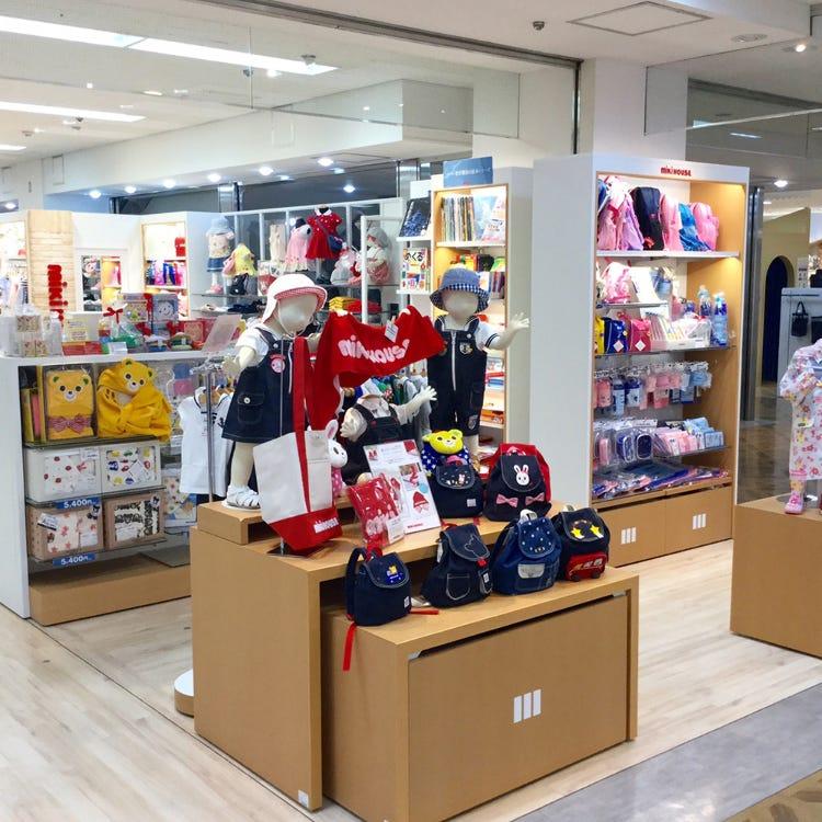 MIKI HOUSE Kyoto Takashimaya store