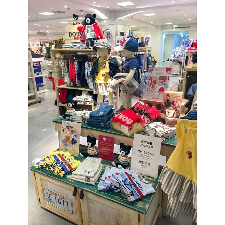 MIKI HOUSE Shibuya Seibu store