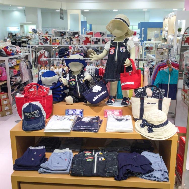 MIKI HOUSE Shinsaibashi Daimaru store