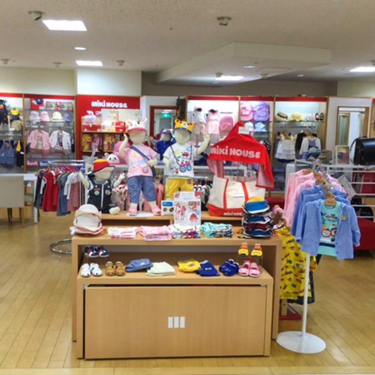 MIKI HOUSE Kyoto Isetan store