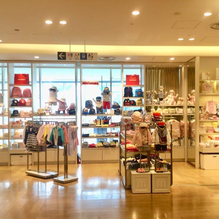 MIKI HOUSE Ginza Mitsukoshi store