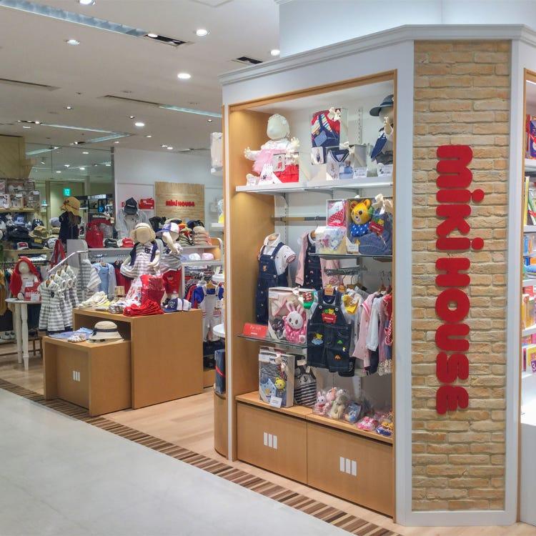 MIKI HOUSE Shinjuku Takashimaya store