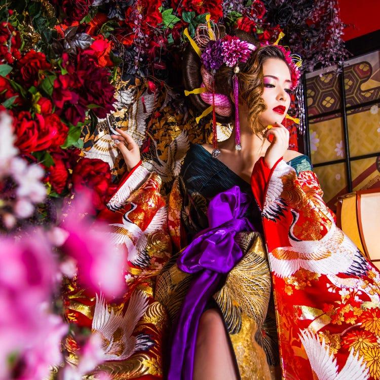 Maiko and Oiran Experience, Studio Kokoro Hanashizuku