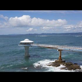 白濱海中展望塔