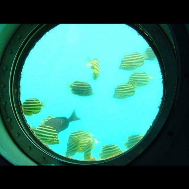 시라하마 해저전망탑