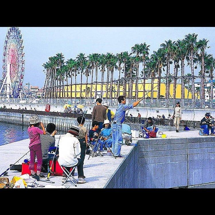 和歌山海滨城(Marina City) 海钓公园