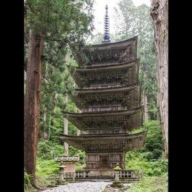 Mt. Haguro Five-storied Pagoda