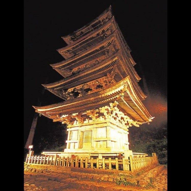 羽黒山五重塔