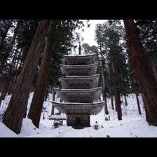 羽黑山五重塔