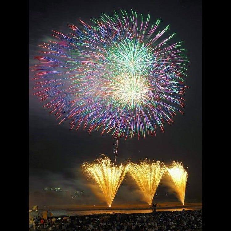 모리오카 불꽃 축제