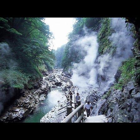小安峡 大噴湯