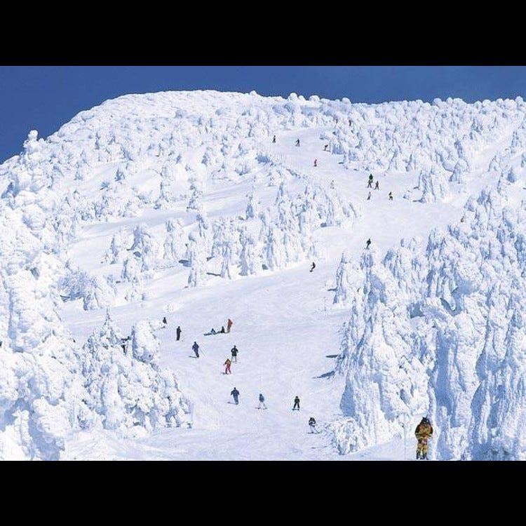 야마가타 자오 온천 스키장