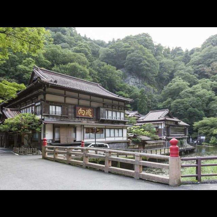 會津東山溫泉 向瀧