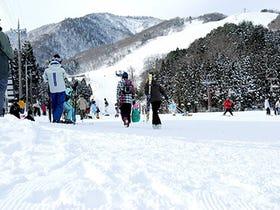 간나베 고원 만바 스키장