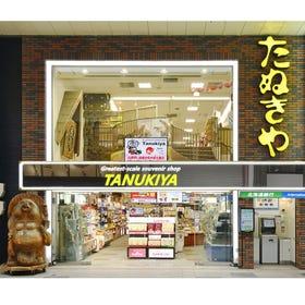 Greatest-scale souvenir shop TANUKIYA