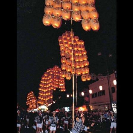秋田竿灯祭