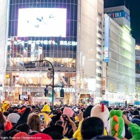 澀谷萬聖節派對