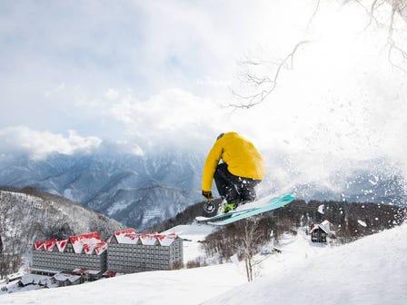 白马 CORTINA 滑雪场