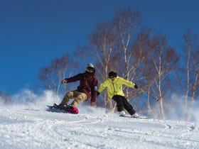 Manza-Onsen Ski Resort