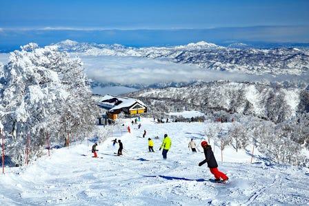 野泽温泉滑雪场
