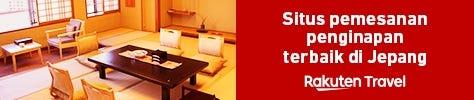 Situs pemesanan penginapan terbaik di Jepang - RakutenTravel