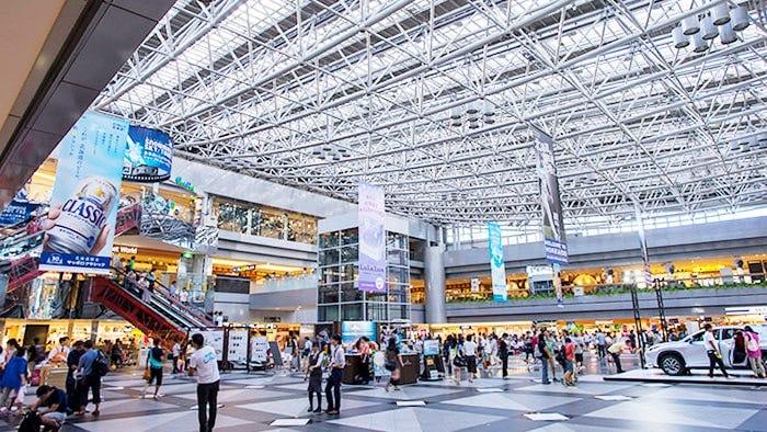 신치토세 공항 터미널 빌딩의 맛집과 선물코너 소개!