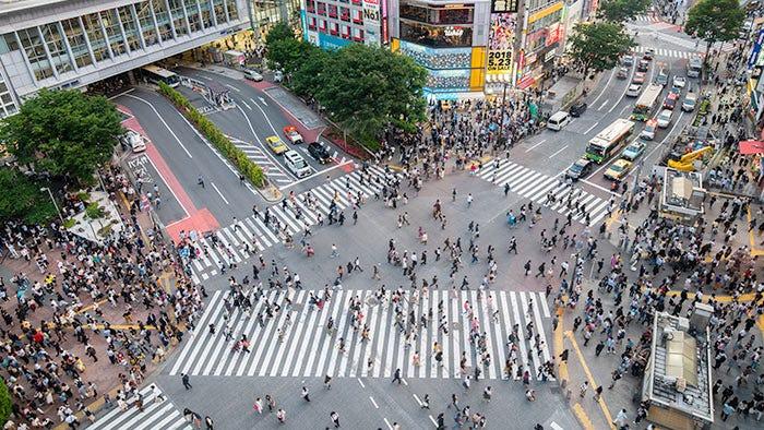 ข้อมูลท่องเที่ยว & แผนที่ชิบูย่า โตเกียว |บริเวณรอบสถานีชิบูย่า