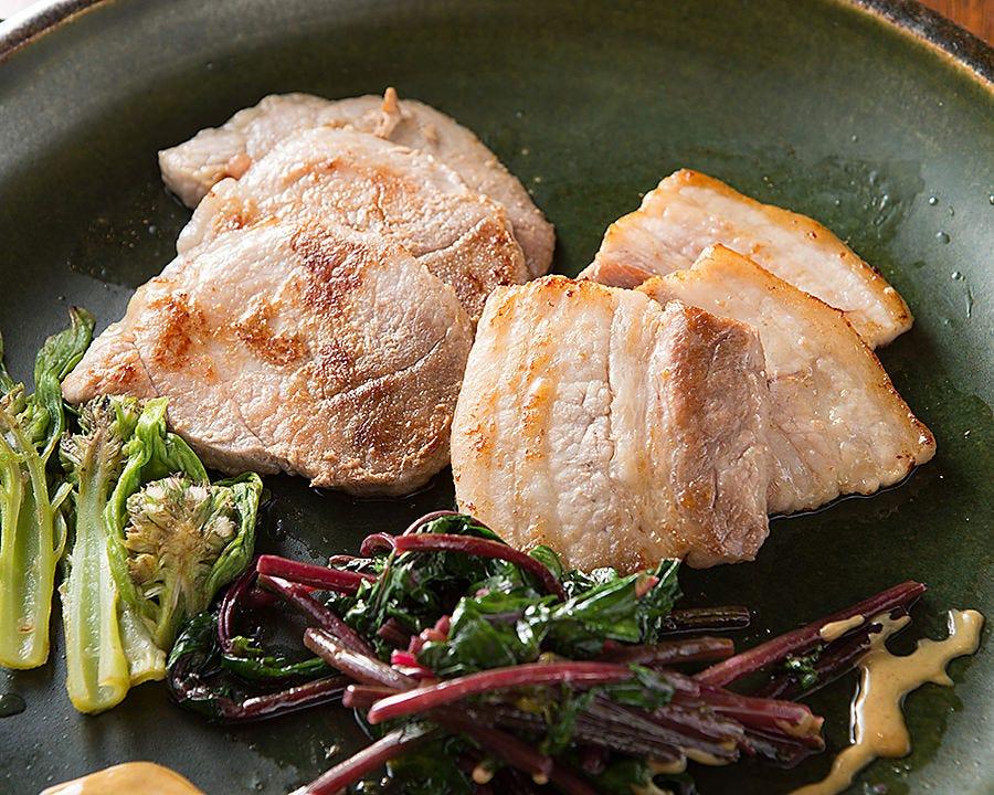 ふじさわ産豚肉のソテー