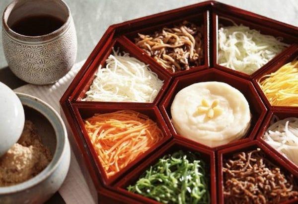 韓国宮廷料理 九節板
