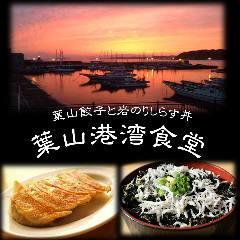 葉山餃子と岩のりしらす丼 葉山港湾食堂